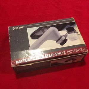 Battery Operated Shoe Polisher